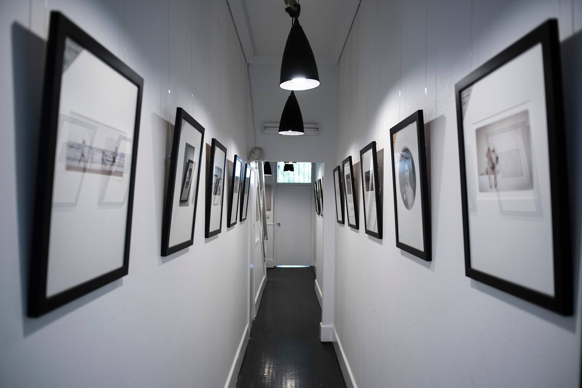 A mini gallery as you come in