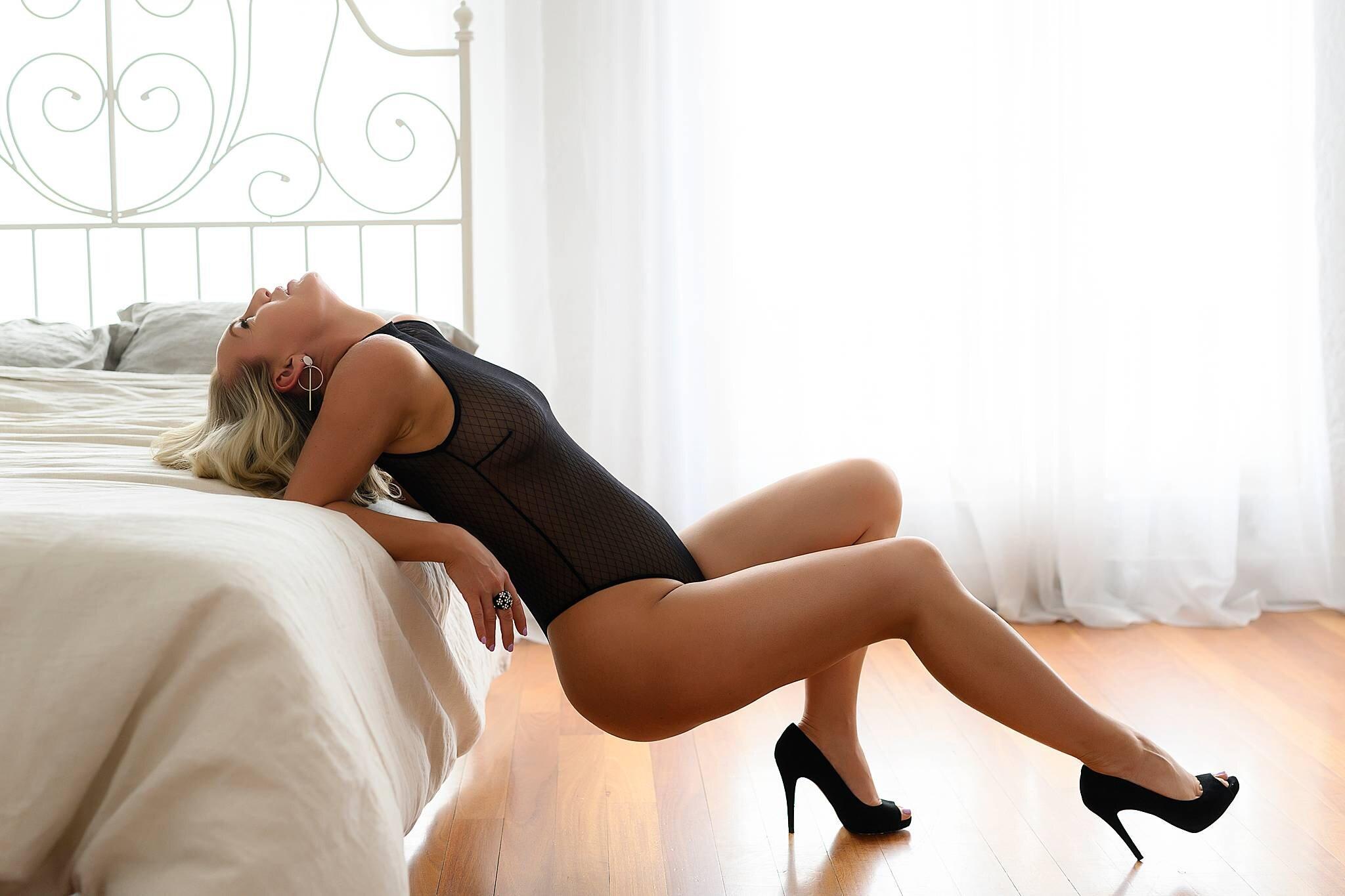 Boudoir lingerie photography