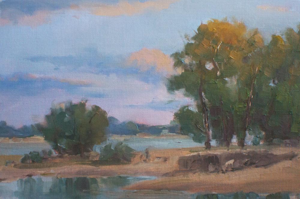 View across Danube River