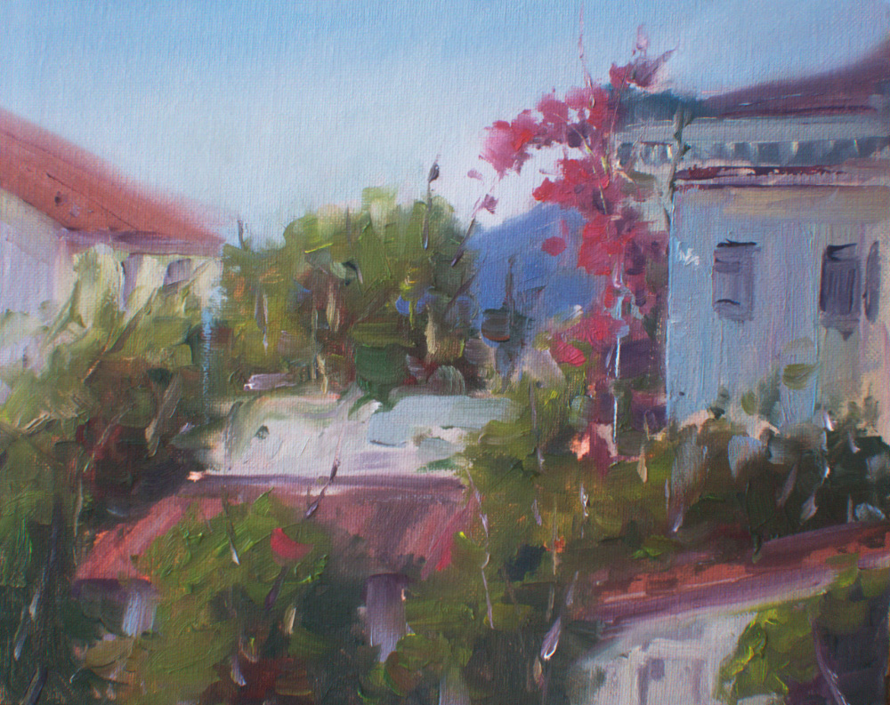 Copy of View from a balcony, Montenegro, Bar