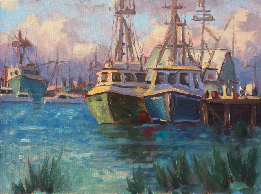 Steveston Boats