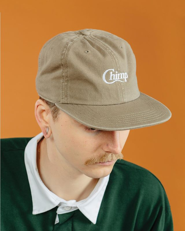 Unstructured cotton motif caps for @thechimpstore
