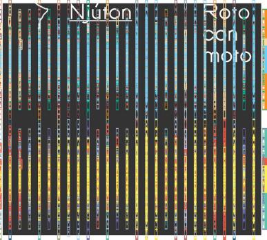 Njúton Ensemble - Roto con moto (Bad Taste Records, 2007)  Music by Icelandic composers Anna Þorvaldsdóttir, Steingrímur Rohloff, Kolbeinn Einarsson, Hlynur Aðils Vilmarsson, Guðmundur Steinn Gunnarsson and Hugi Guðmundsson.   Available on tonlist.is