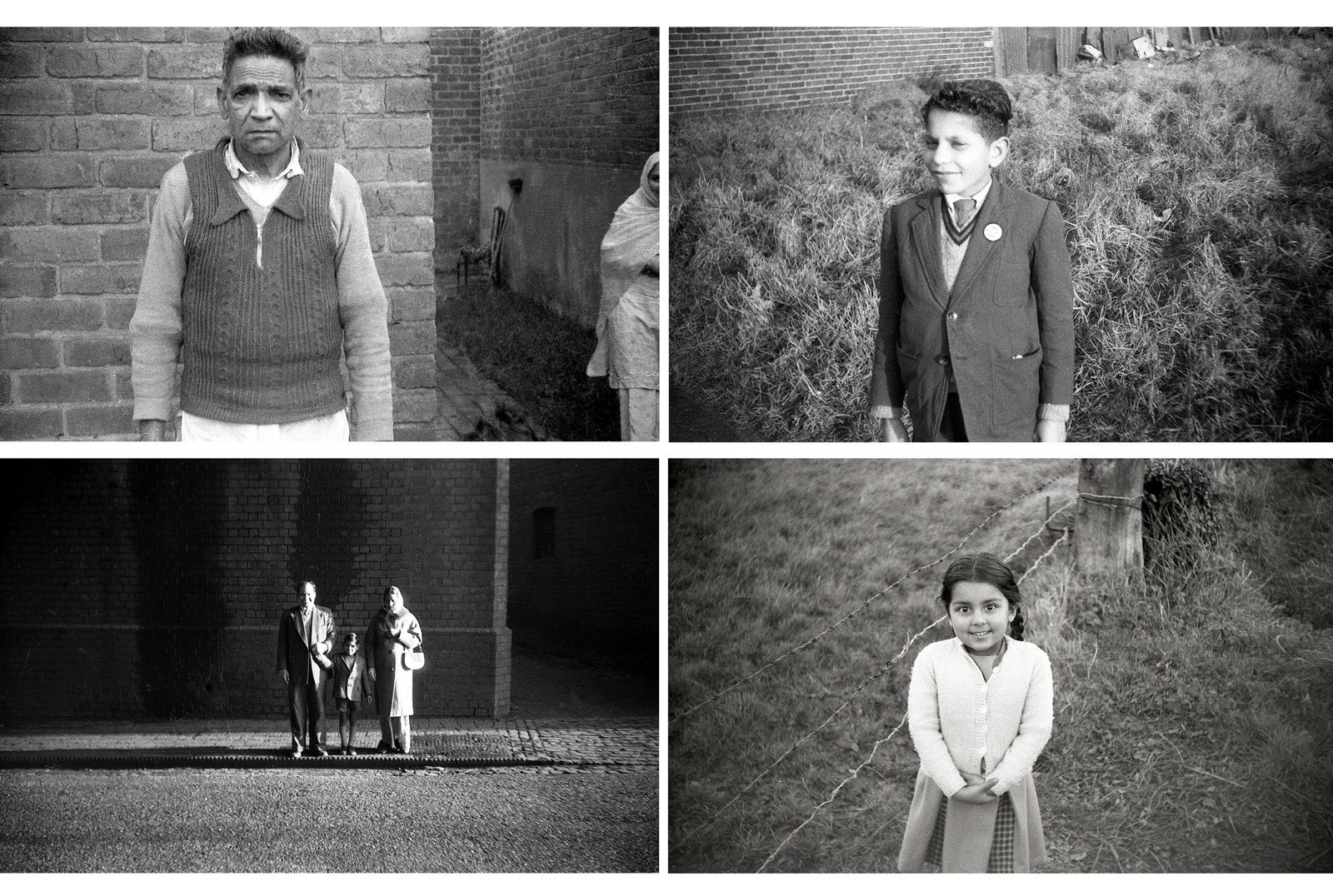 Portraits taken by Mr Dass around Inkerman St, Heath Town, Wolverhampton c1961