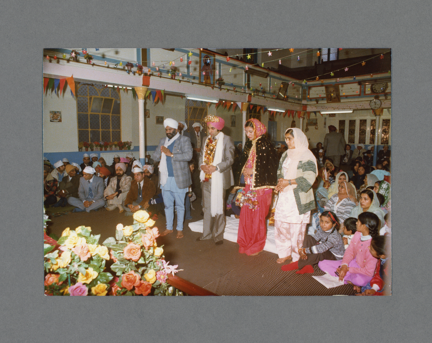 Gurdwara, Grove Lane, B'ham c.1979