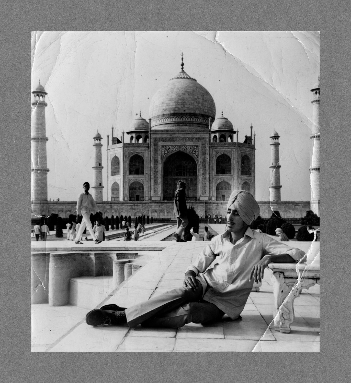 Taj Mahal, India c.1970