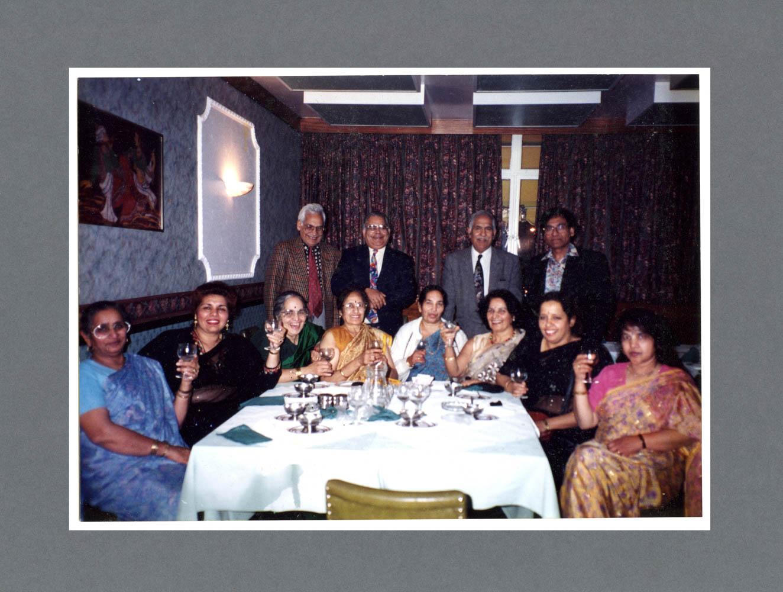 Indian restaurant, Cleveland St. c.1989