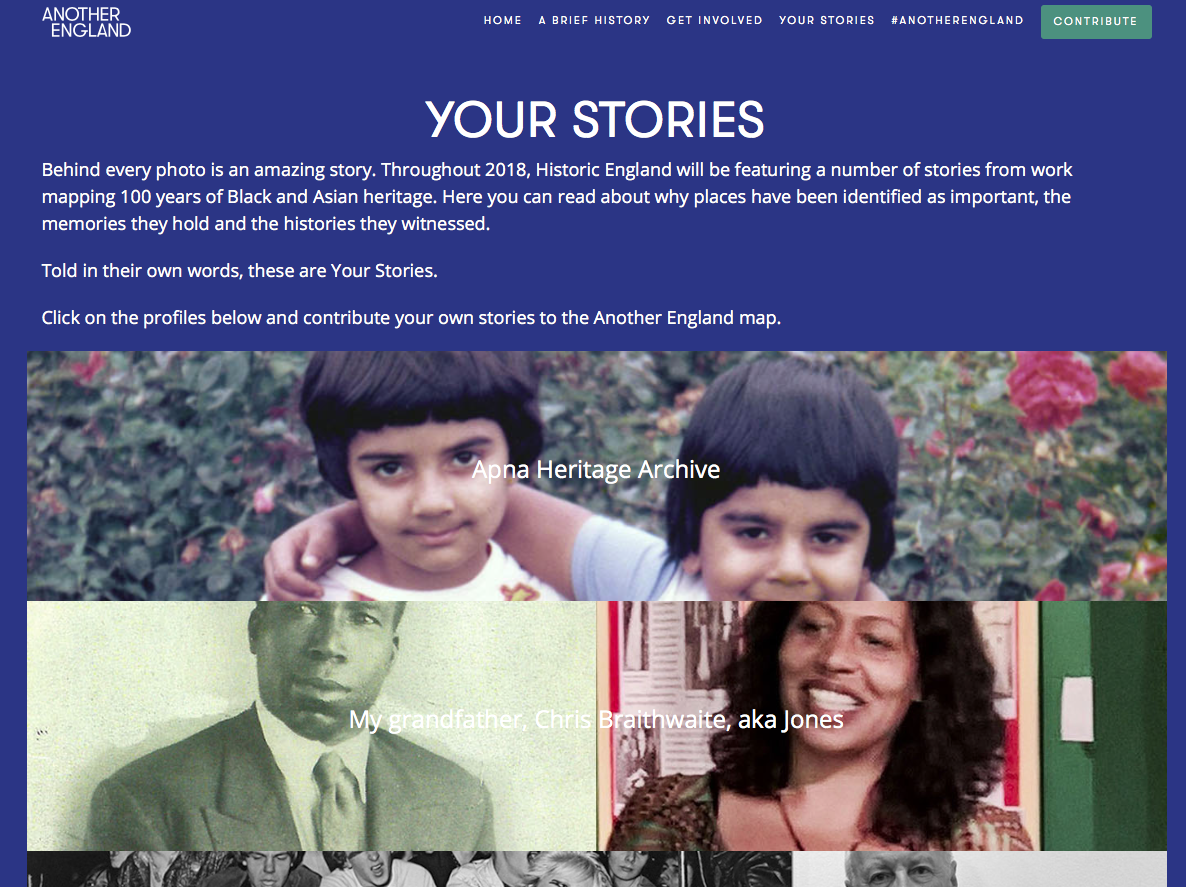 Apna Heritage Archive profiled on 'Another England' its about 100 years of Black & Asain history