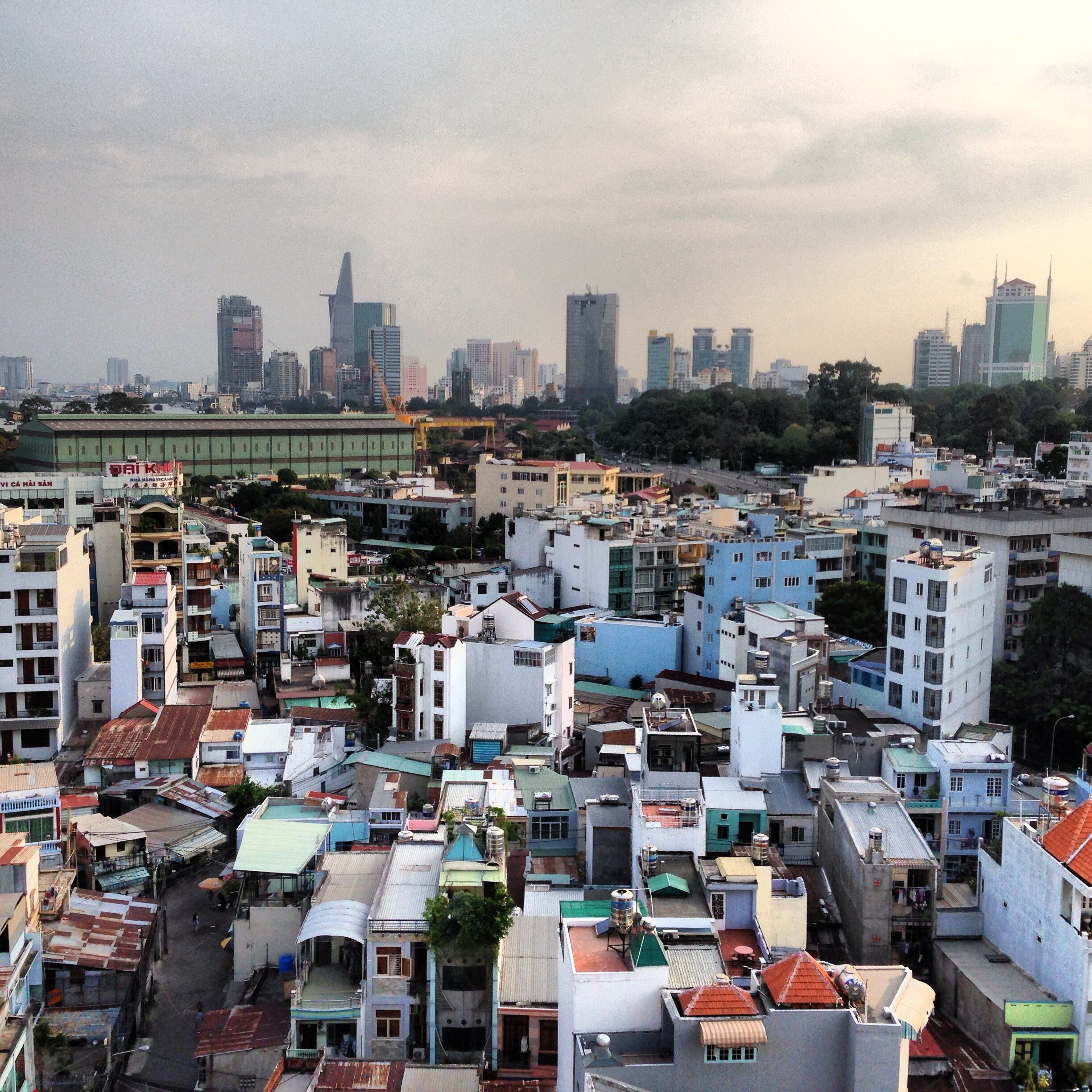 Saigon, my new home for now. Tons of things to see and learn, I'll explore the cafe culture and see the potential for a locally-based Specialty Coffee scene.