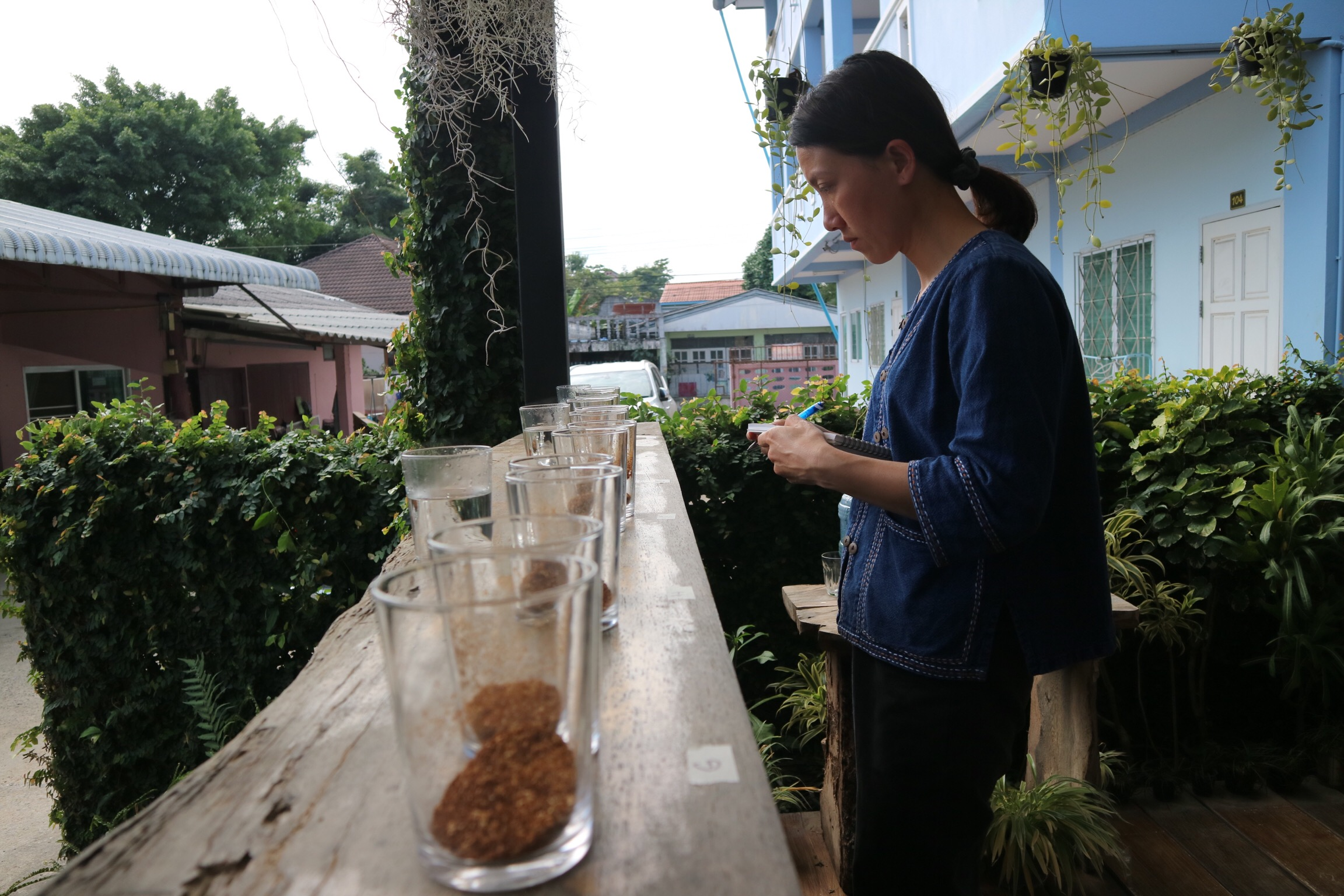 Minh Nguyen, an independent consultant based in Dalat, Vietnam, concentrates on samples.