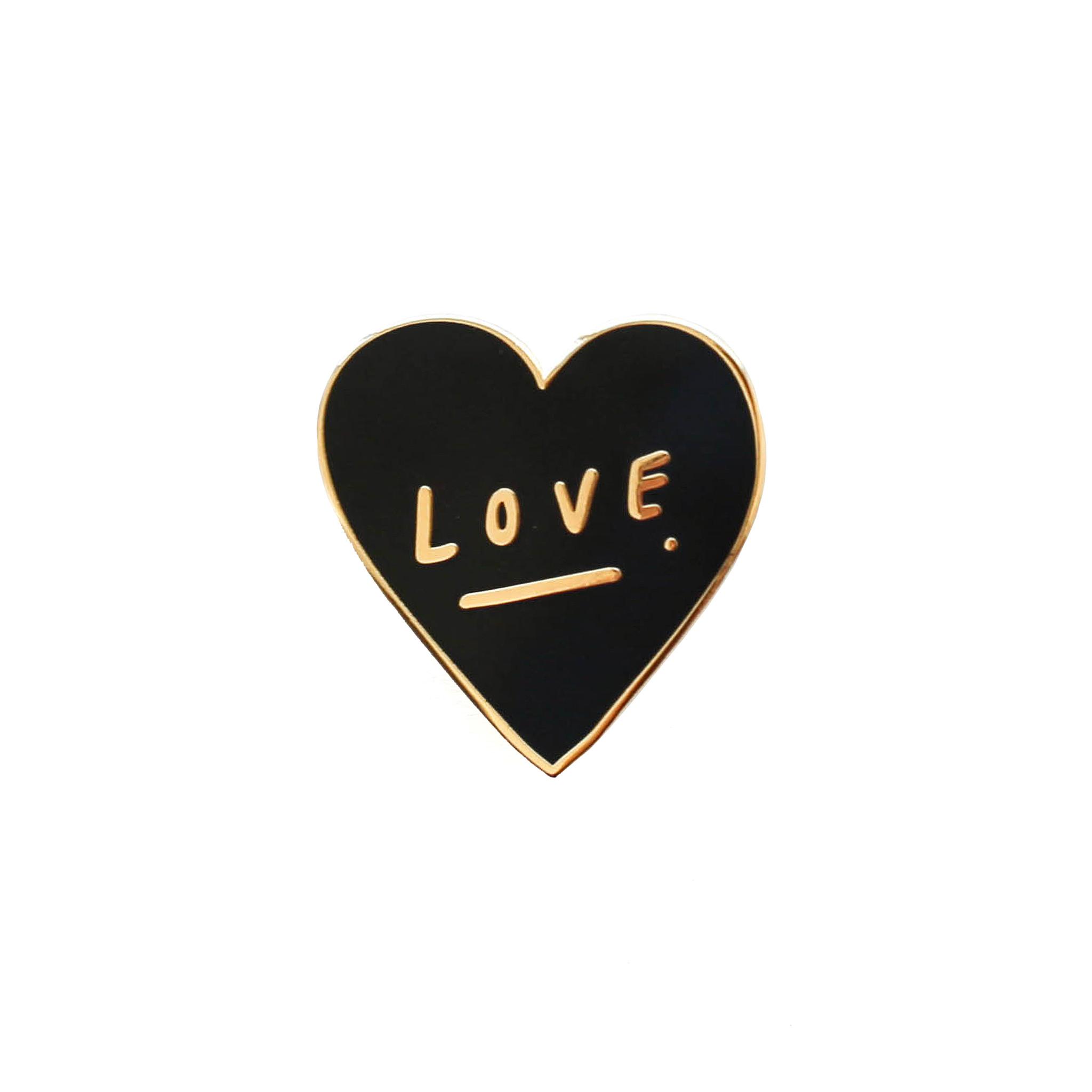 Love Heart Pin