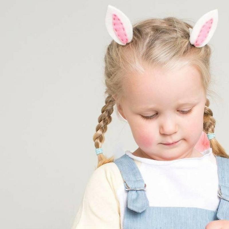 Meri Meri Bunny Ears Hair Clips