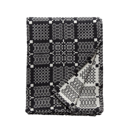 1. Knot Garden Graphite Throw - by Melin Tregwynt. This throw looks really cosy and would work with any decor.