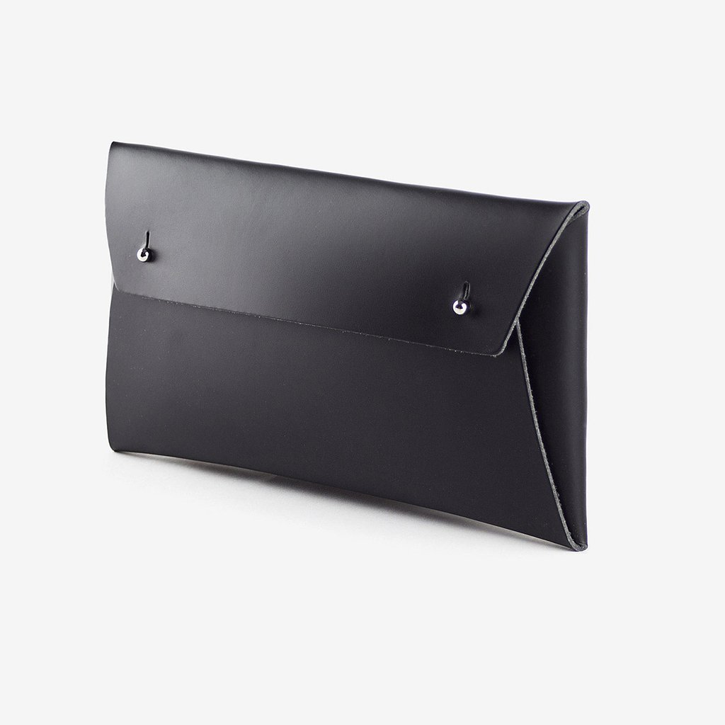 3. Regular Pouch - By Walk With Me.I love its functional simplicity and the fact that it's made from recycled leather.