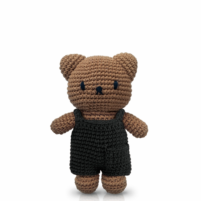 1. Boris Bear - by Just DutchOh look at Boris Bear in his black overalls! How fine is he? He would make a great friend for young and old Miffy lovers!