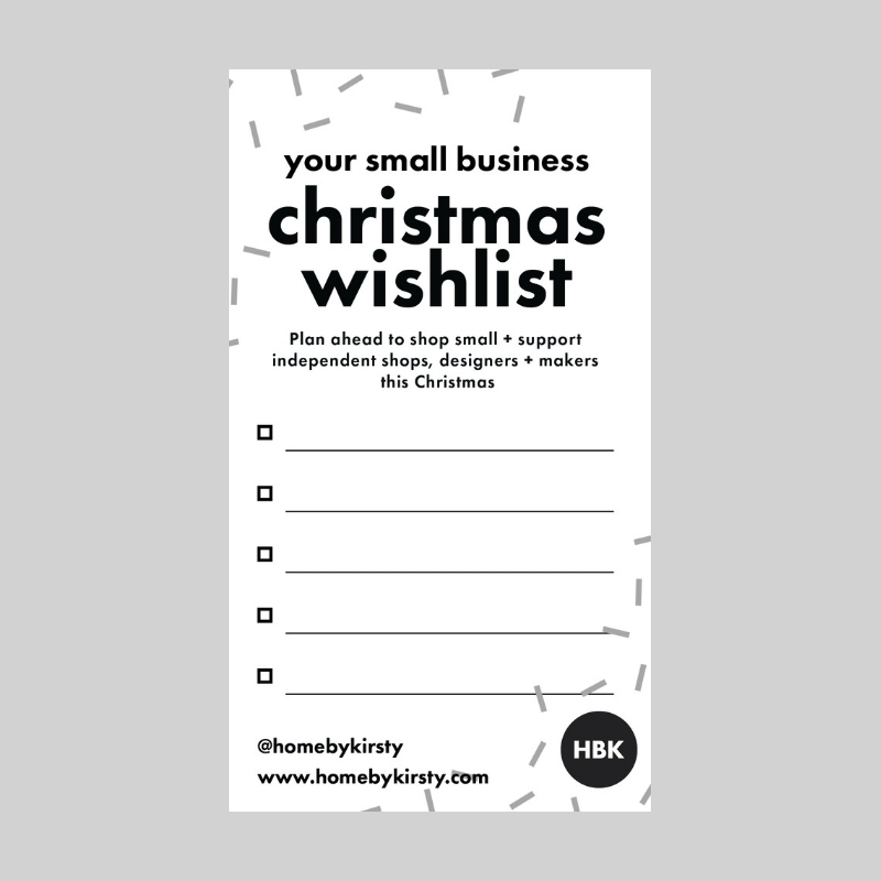 Your small business wishlist