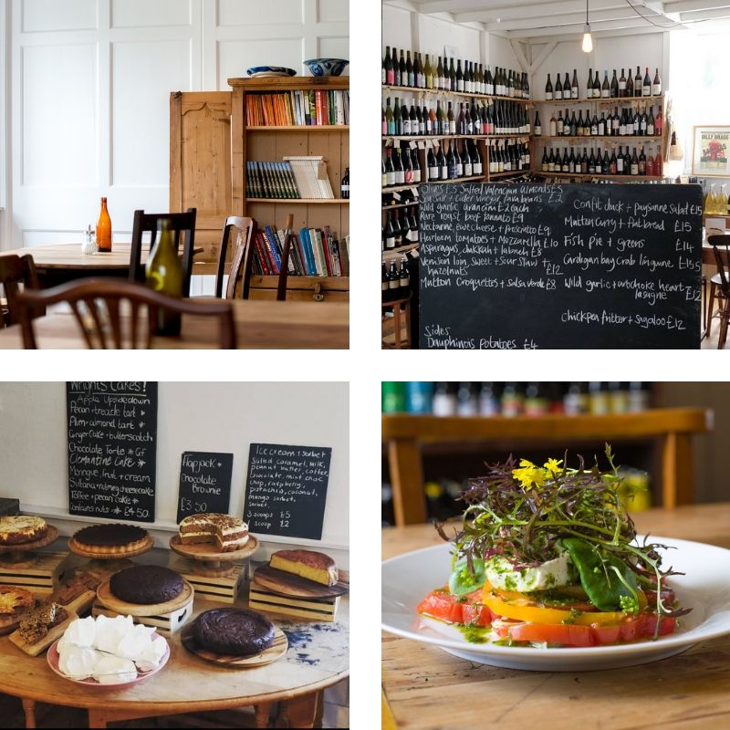 4. Wright's Food Emporium - Food lovers - this is your place to stay! If you don't know about Wright's… why not?!! I should explain my link, this seriously doesn't sway my view… I promise! I used to work for Maryann + Simon back when they ran YPolyn with Sue + Mark back in 2005! That is when I tasted the BEST food ever.Tucked down the back road from Llandeilo to Carmarthen, you'll find Wright's Food Emporium, a cafe, deli + place to stay. It's the perfect stop off if you are heading West or fancy a weekend roaming the Towy Valley. You'll find two cottages at Wright's, in their signature laid back/ informal style, which is why I love it so much. Plus good food by good people.