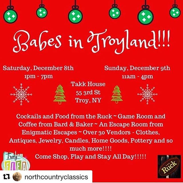 What?!?! Last day of Babes in Troyland and @northcountryclassics is hooking you all up!!!11-4 at the @takkhouse #Repost @northcountryclassics with @get_repost ・・・ Last market day of the year until next Spring for @northcountryclassics #vintage! I will be at the @takkhouse from 11-4 today with so many great vendors from @troyflea ❤️. Come say hello and shop my 50% off rack too!