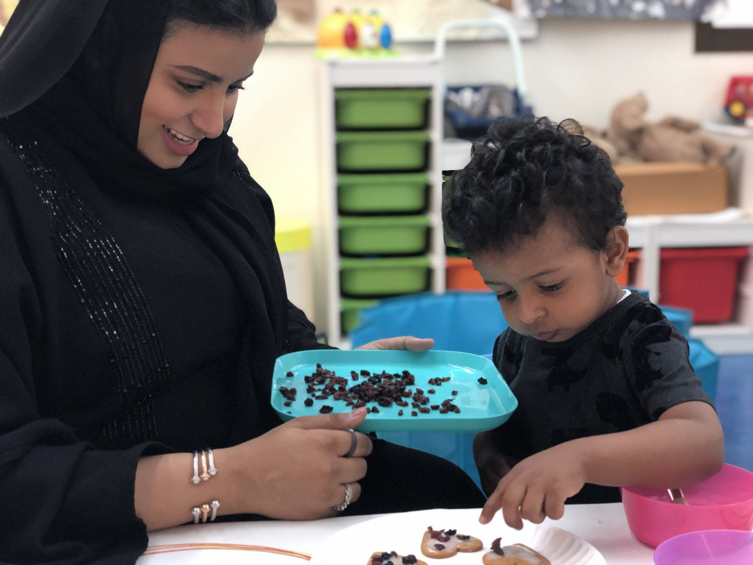 f9c6558a8d4 Kid's Island Nursery, kindergarten in Dubai, believes that modelling the  desired behavior is the best place to start. Teachers speak to the children  in a ...