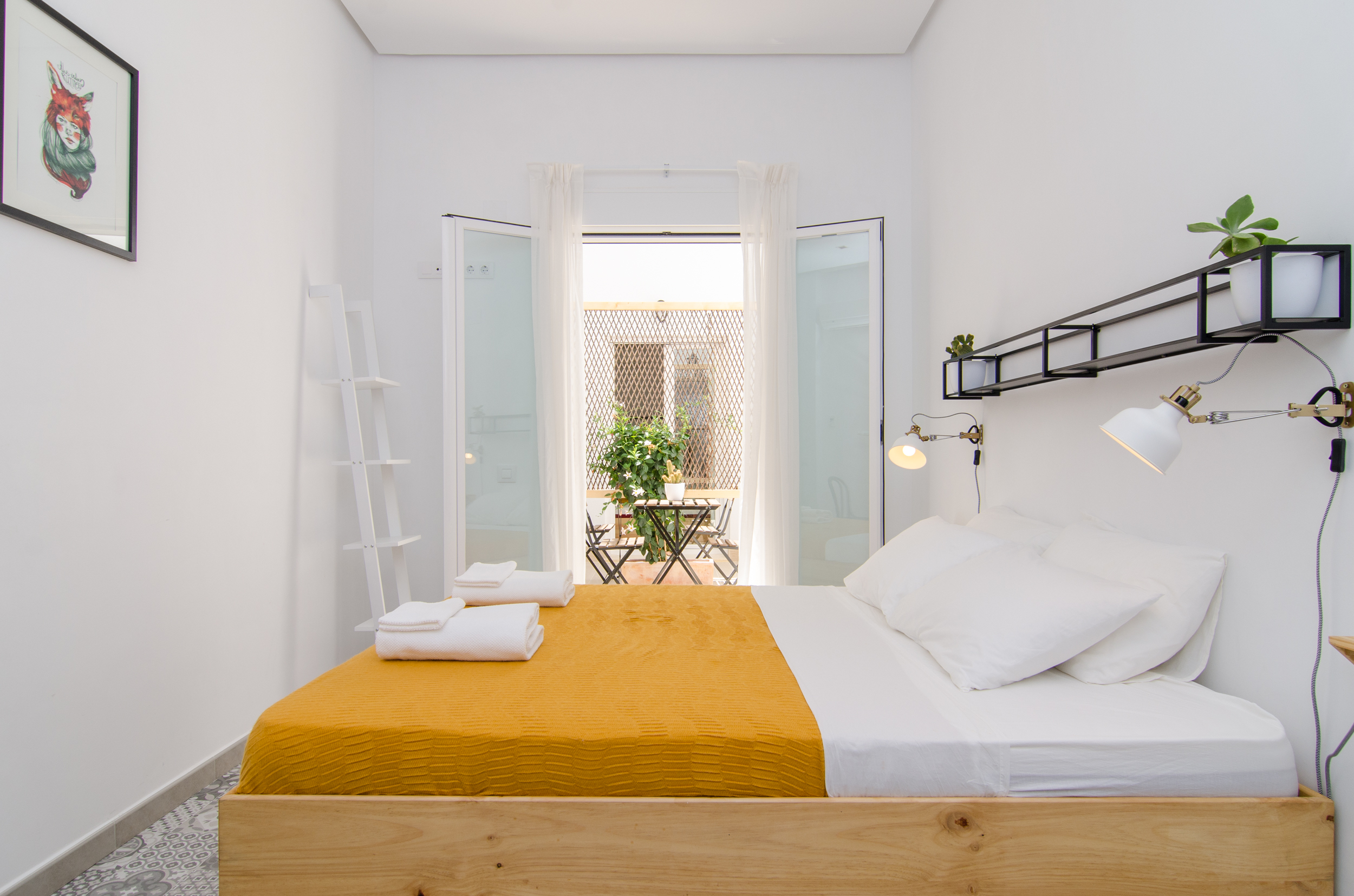 Double room with patio at Zalamera B&B in Valencia, Spain (4 of 92).jpg