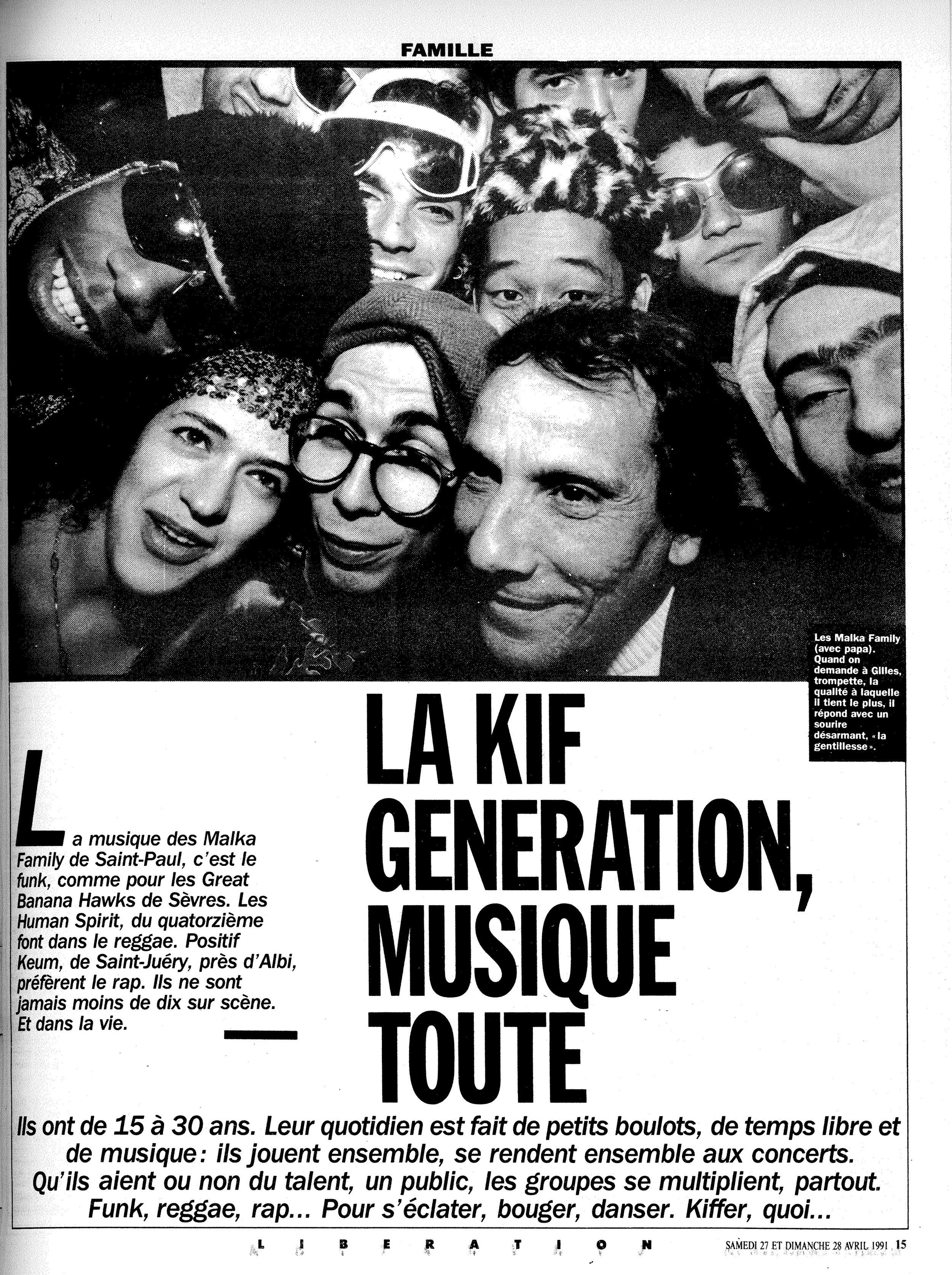 Libération 27 avril 1991