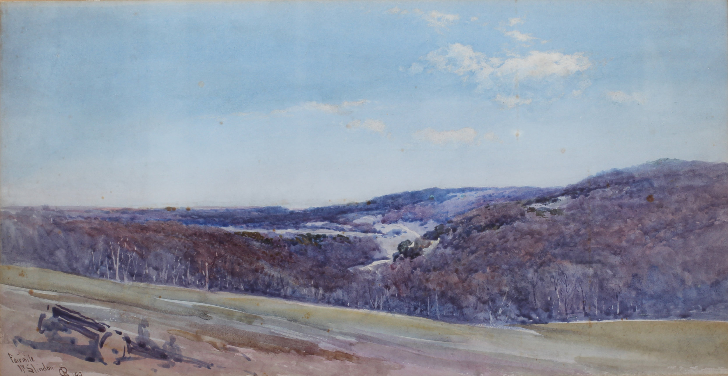 Charles Edmund Rowbotham      Fairmile, near Slindon, Sussex     Price: £650