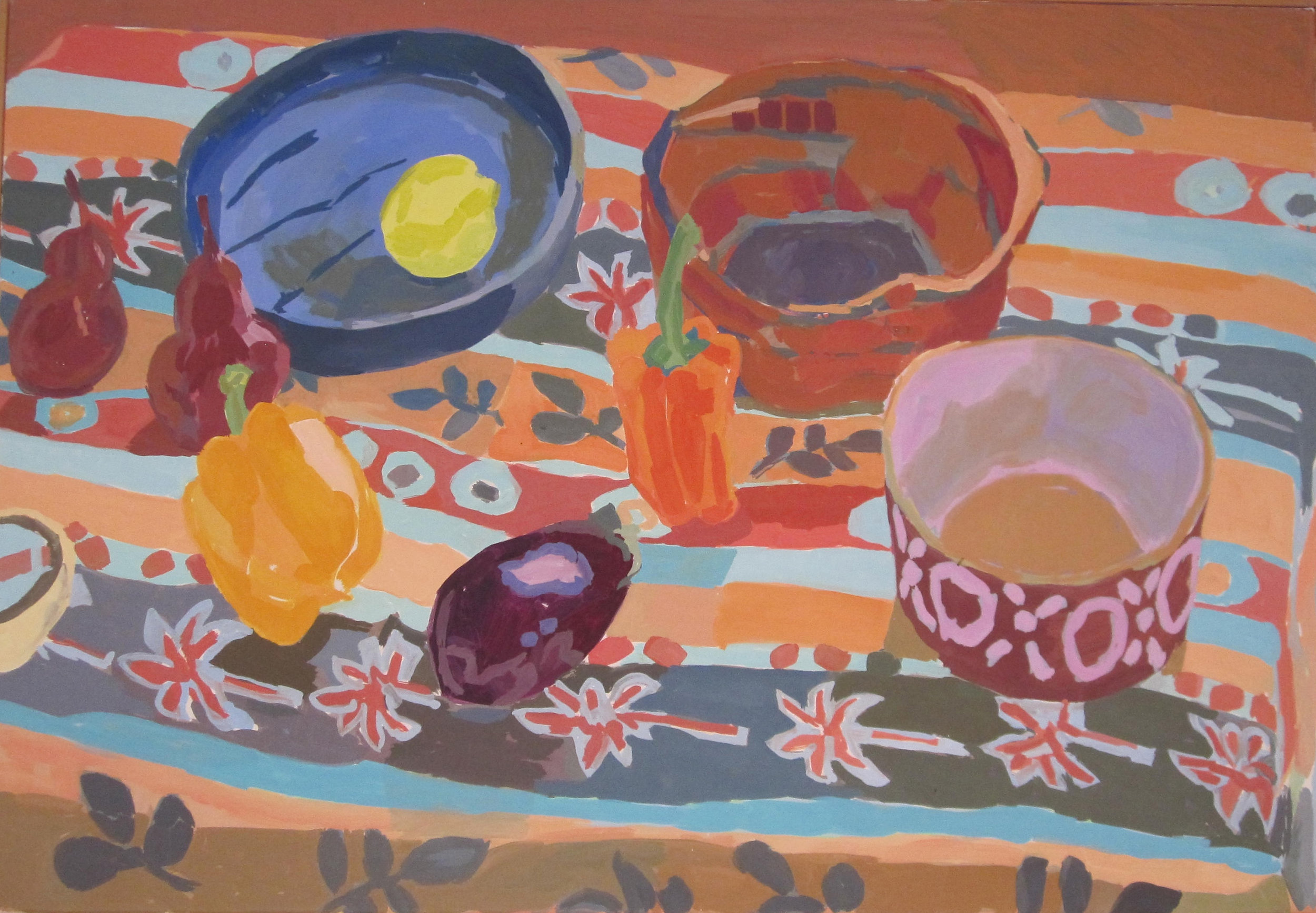 Montford, Still Life with Bowls and Peppers.jpg