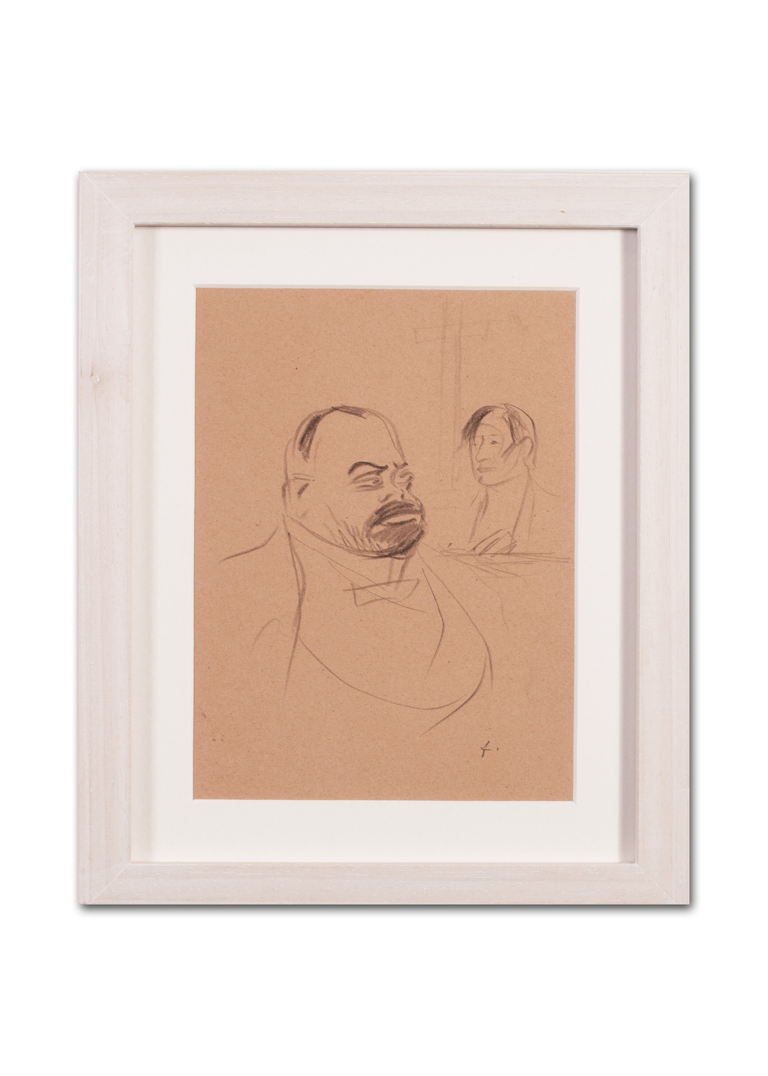 Jean Louis Forain      Au Vatican, A set of three drawings     Price: £1,500