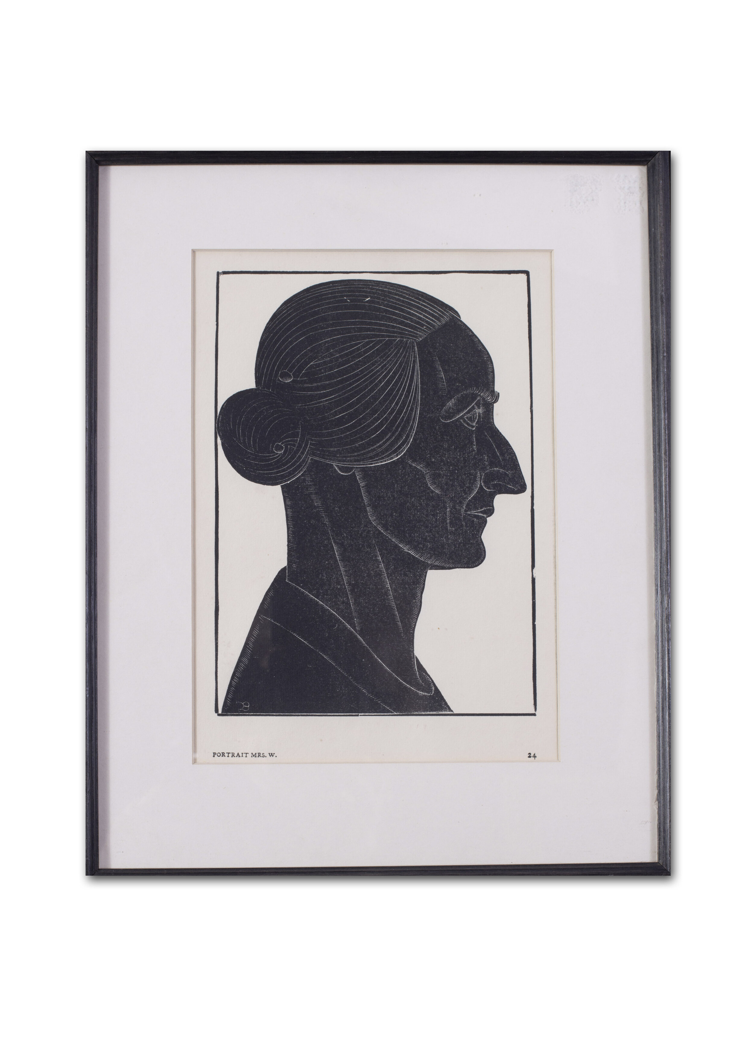 Eric Gill      Mrs Williams of Ditchling, 1924     Price: £590