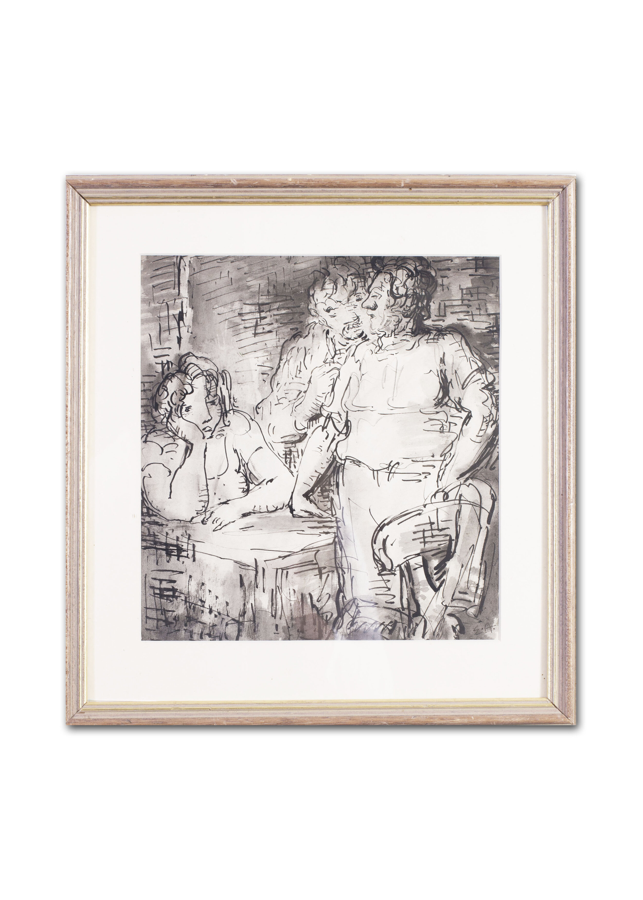 Edward Ardizzone      A discussion in an inn     Price: £1,450