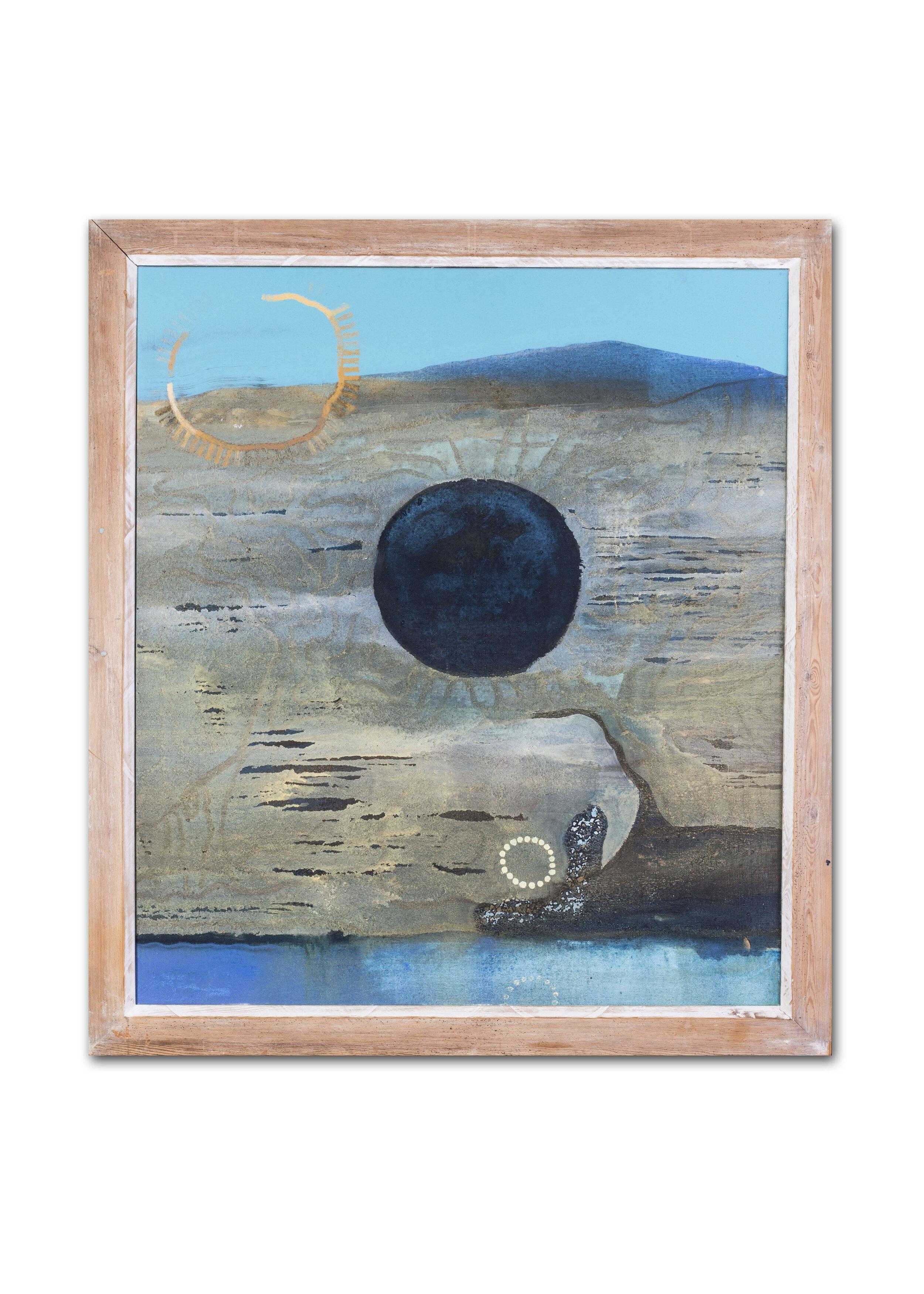 Jenny Franklin   Antipodean land: Reflection   Price: £2,450