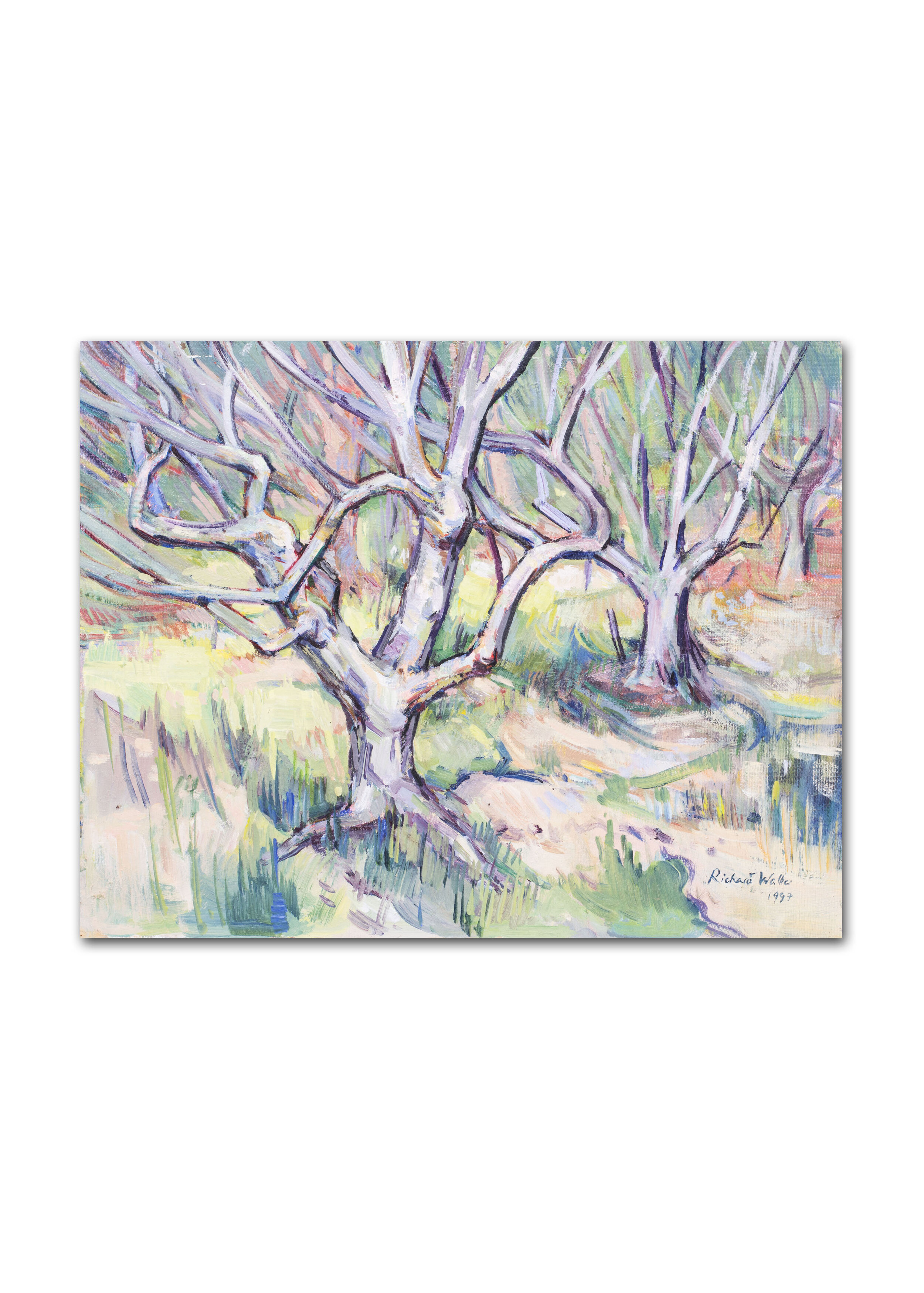 Richard Walker  In the orchard  Price: £550