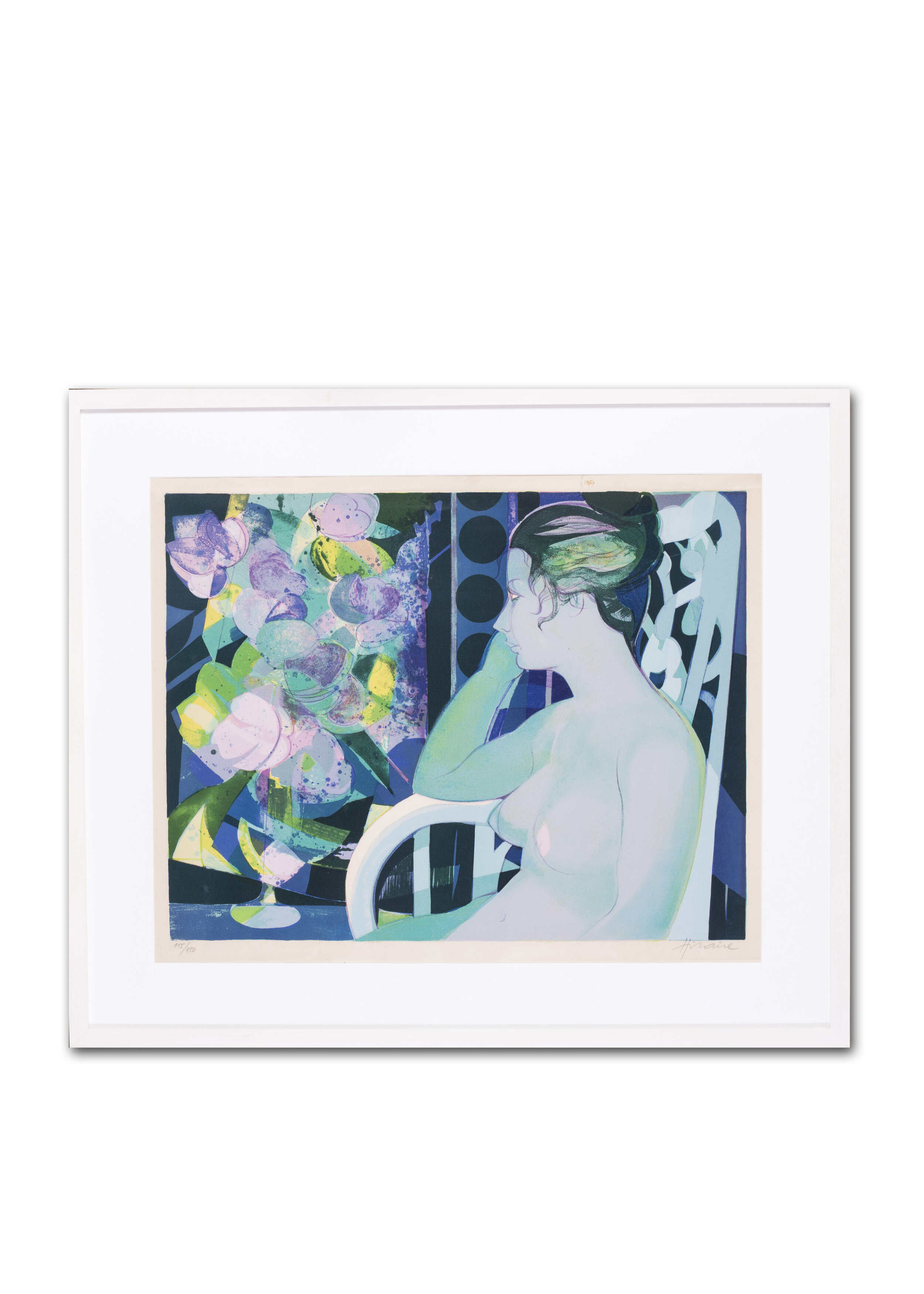 Camille Hilaire (French, 1916 – 2004)     Reflections before summer blooms      Price: £780