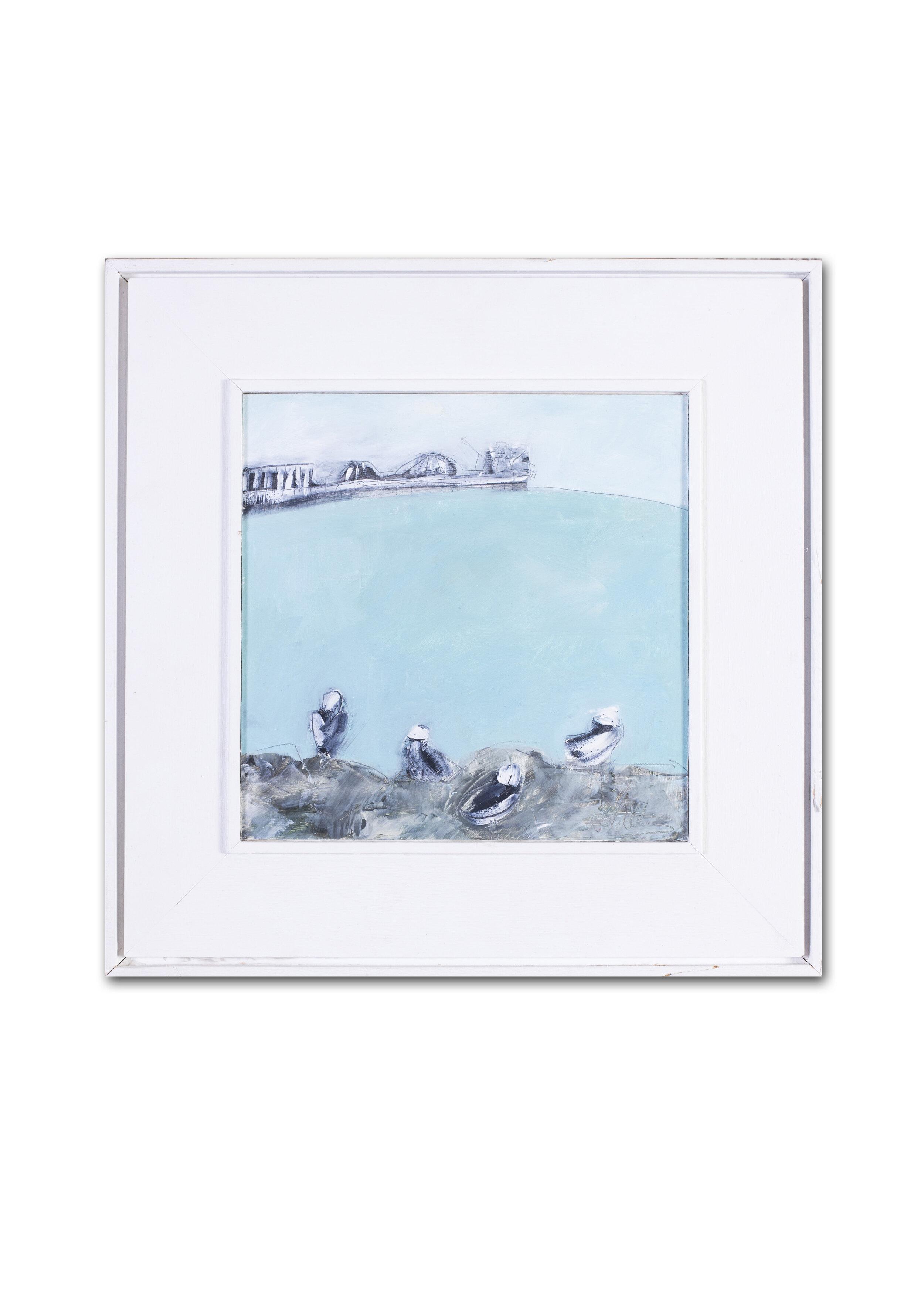 Kathryn Matthews   Seagulls and pier, Brighton, England    Price: £430
