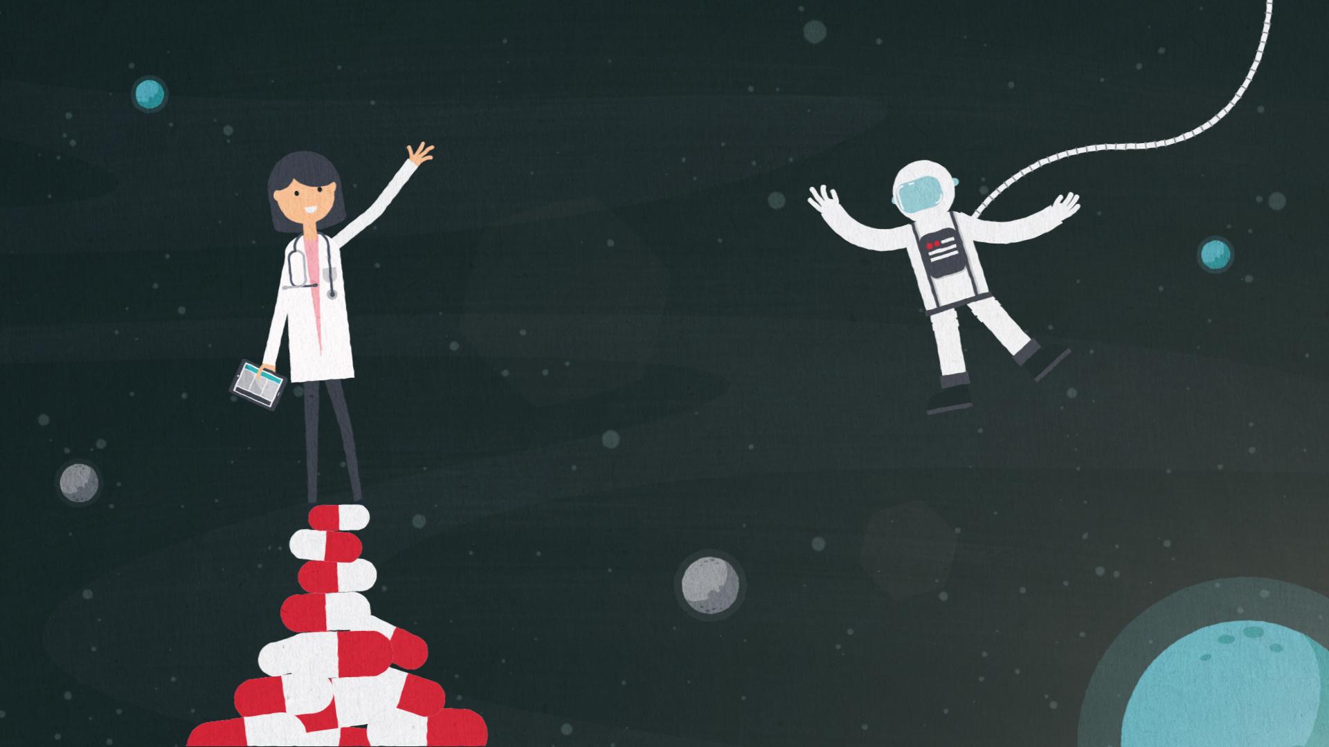 Dina Makanji Space Doctor