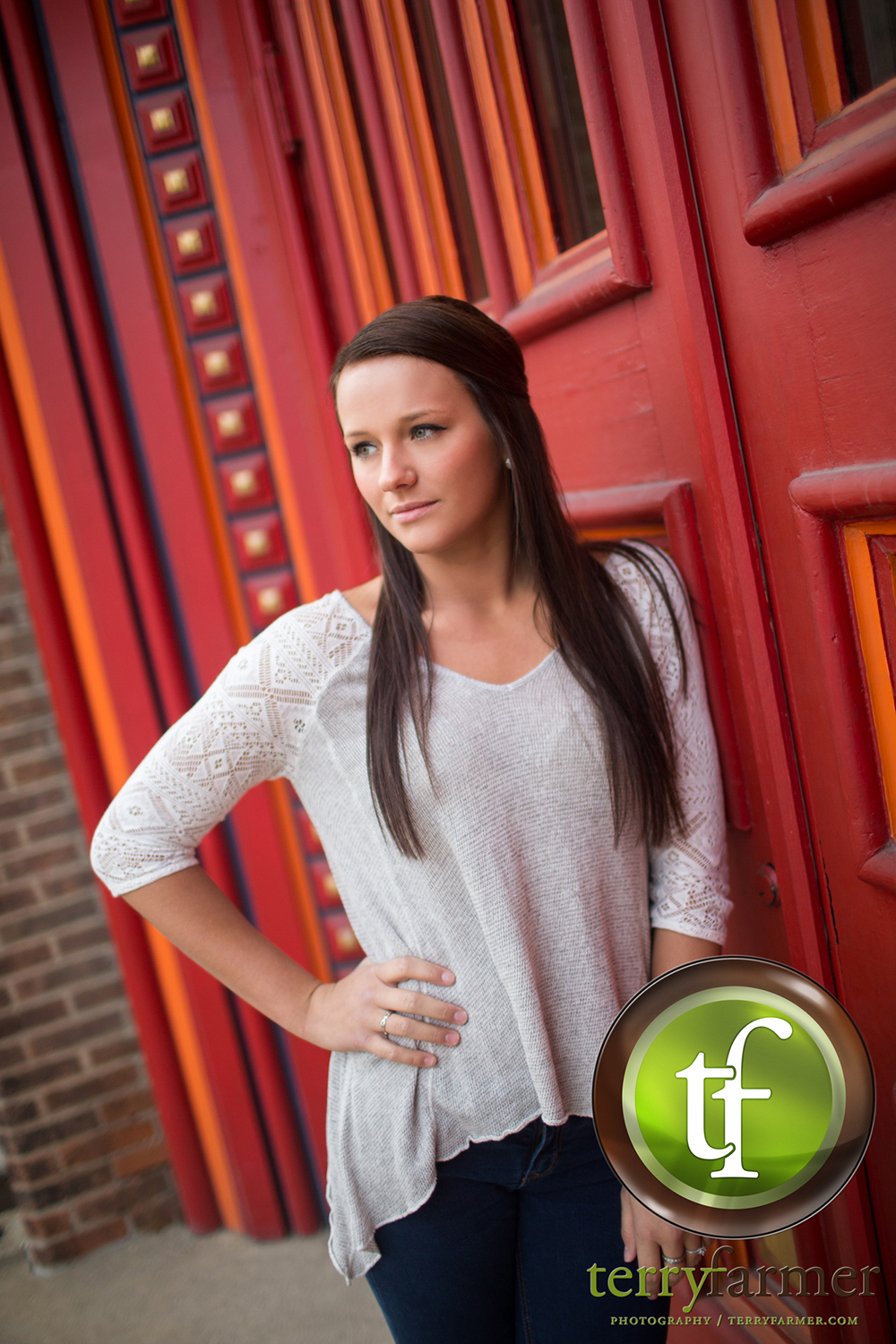 Anastasia Menke from Lutheran High School is todays featured 2016 Senior Model.