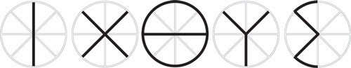 The wheel symbol overlays the Greek letters ΙΧΘΥΣ, an acronym for Ἰησοῦς Χριστὸς Θεοῦ Υἱὸς Σωτήρ (Jesus Christ, Son of God, Savior).