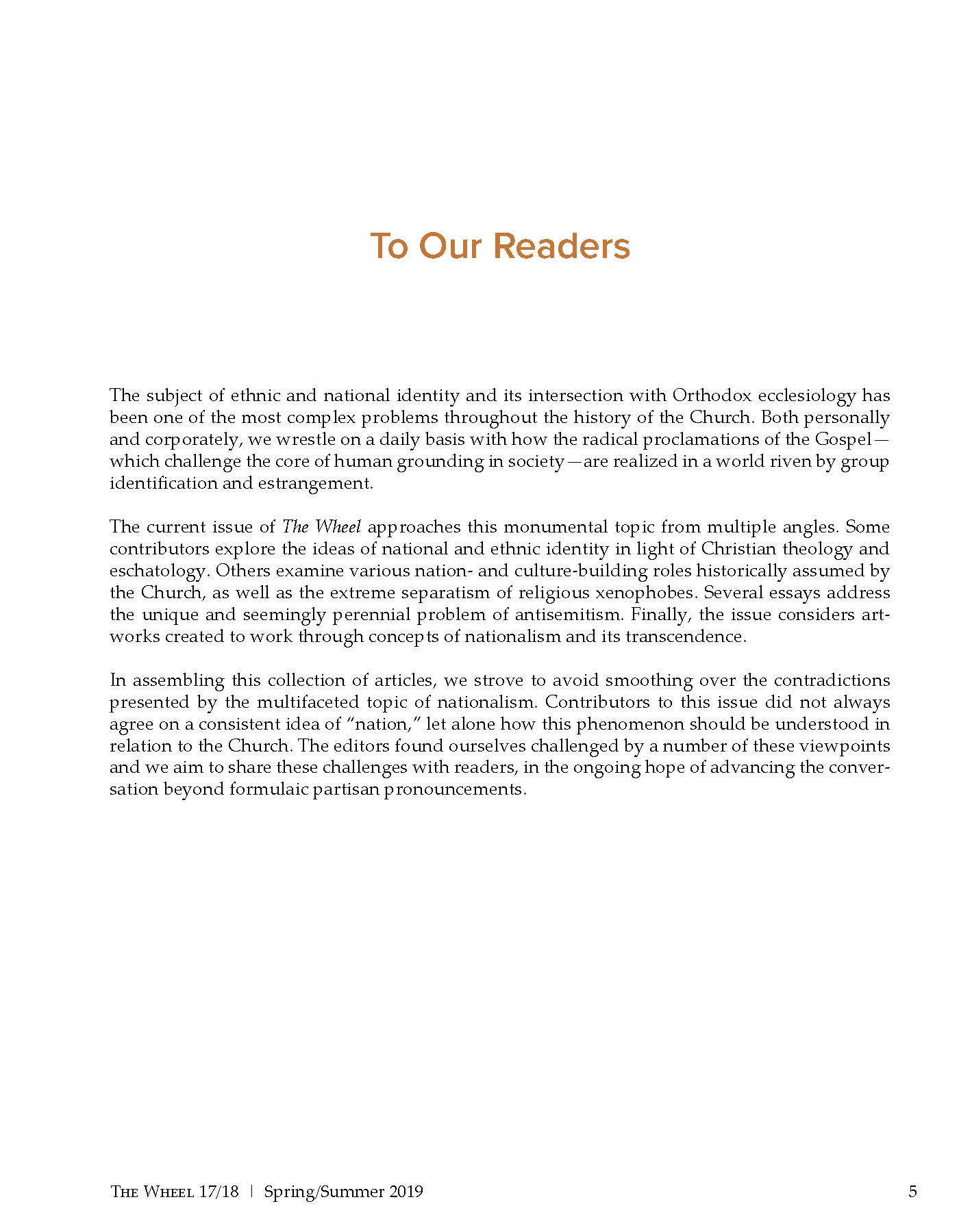 To Our Readers.png