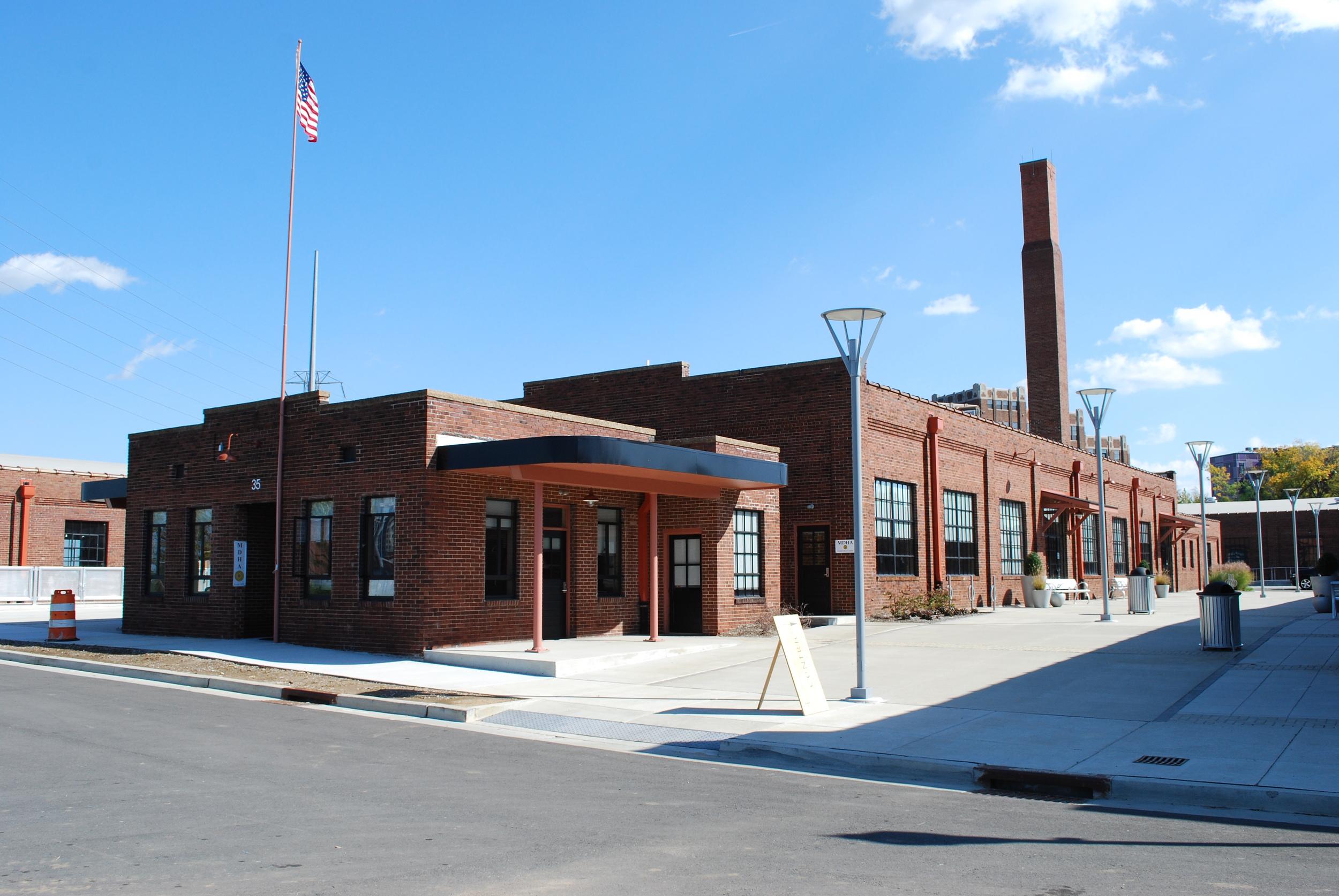 The Trolley Barns: Shell and Tenant Improvements Nashville, TN