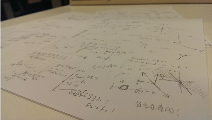 Drafts of dynamic analysis for branch movements by Sha LI