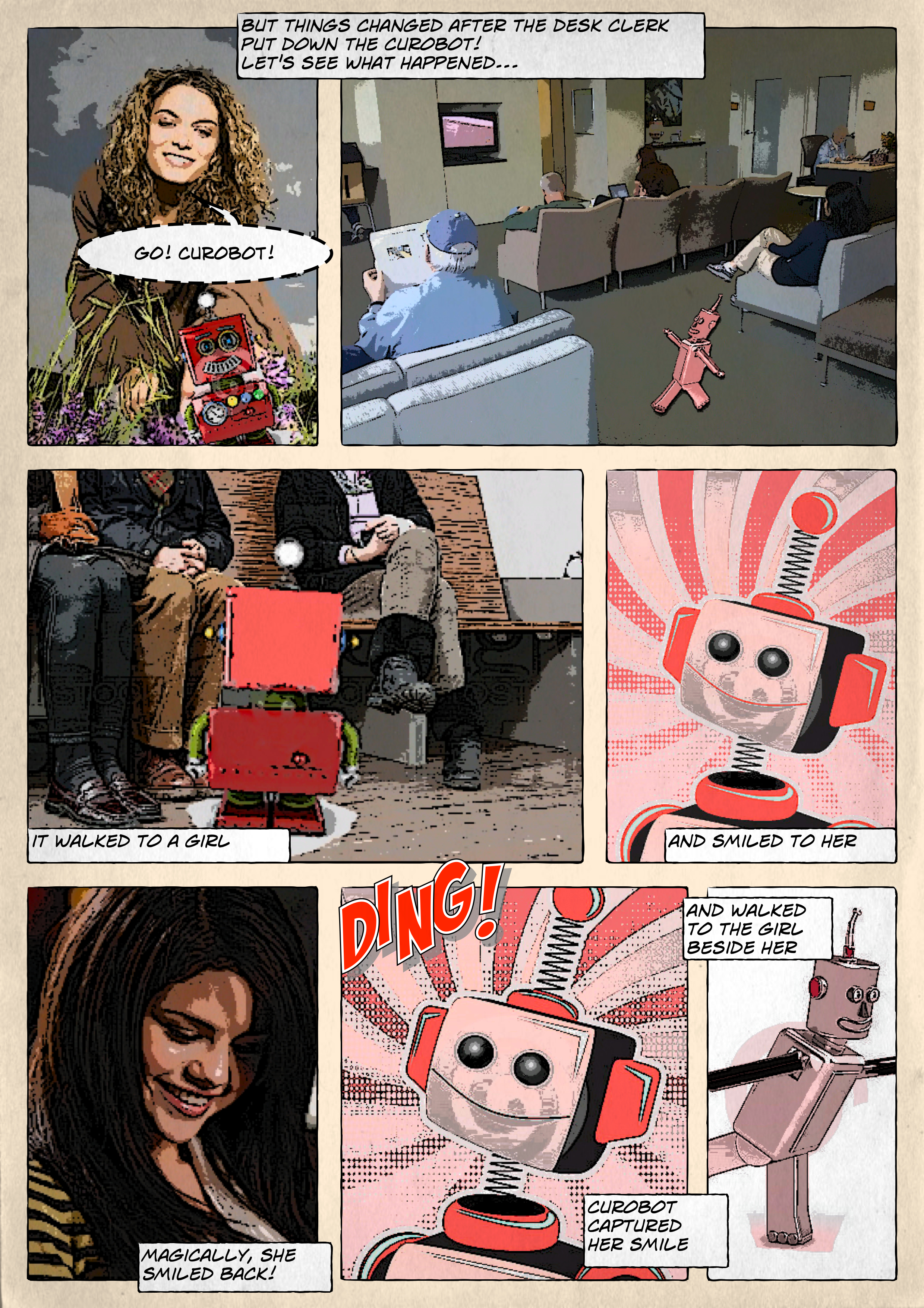 Storyboard for SmileBot