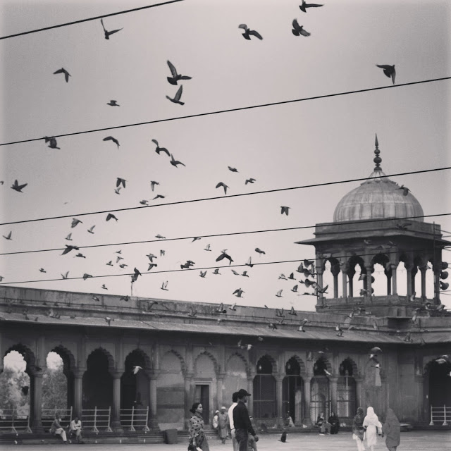 Photo taken at the Jama Masjid mosque, New Delhi 2010