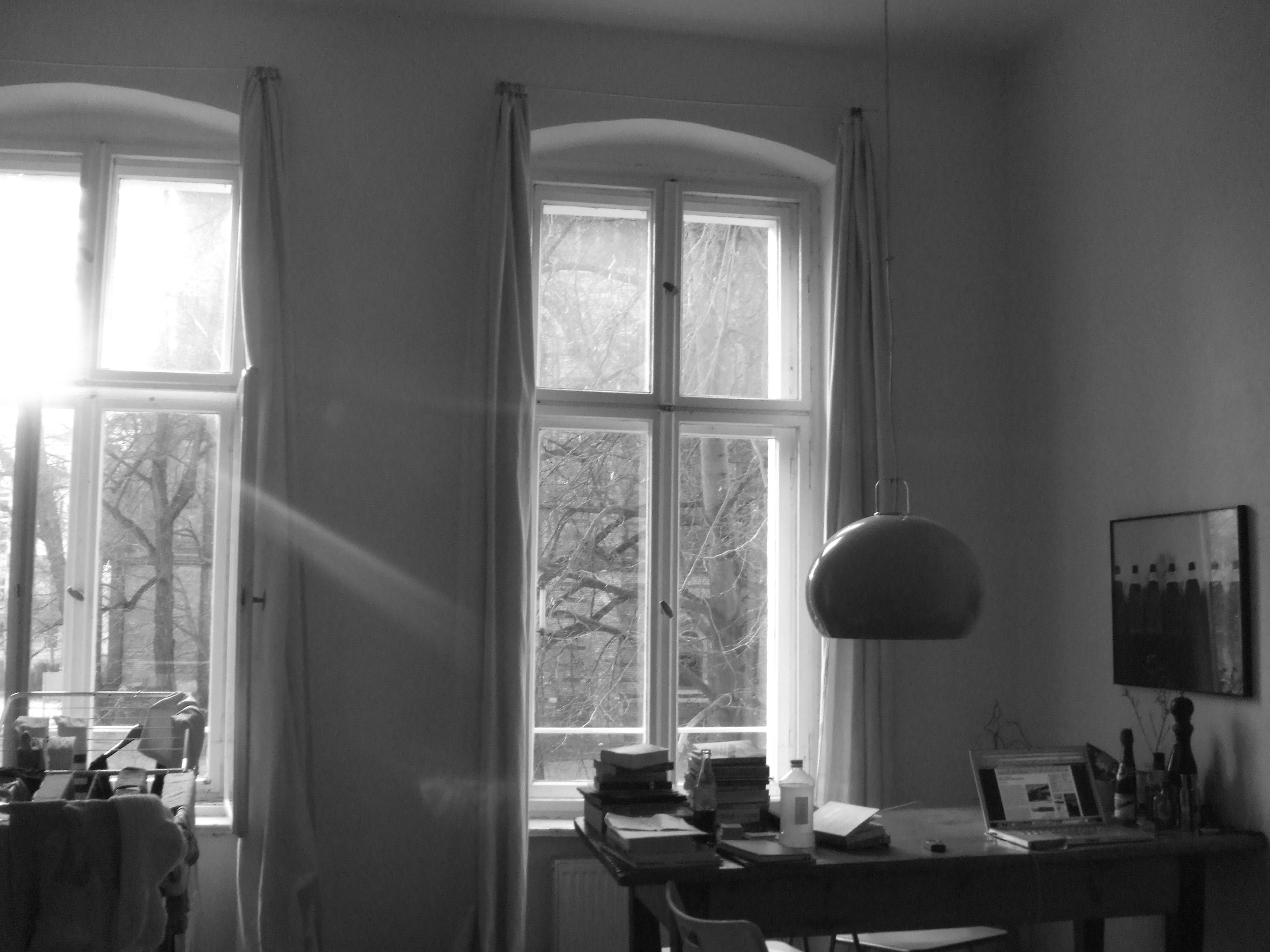 My Berlin apartment on Zionskirchstraße, 2007