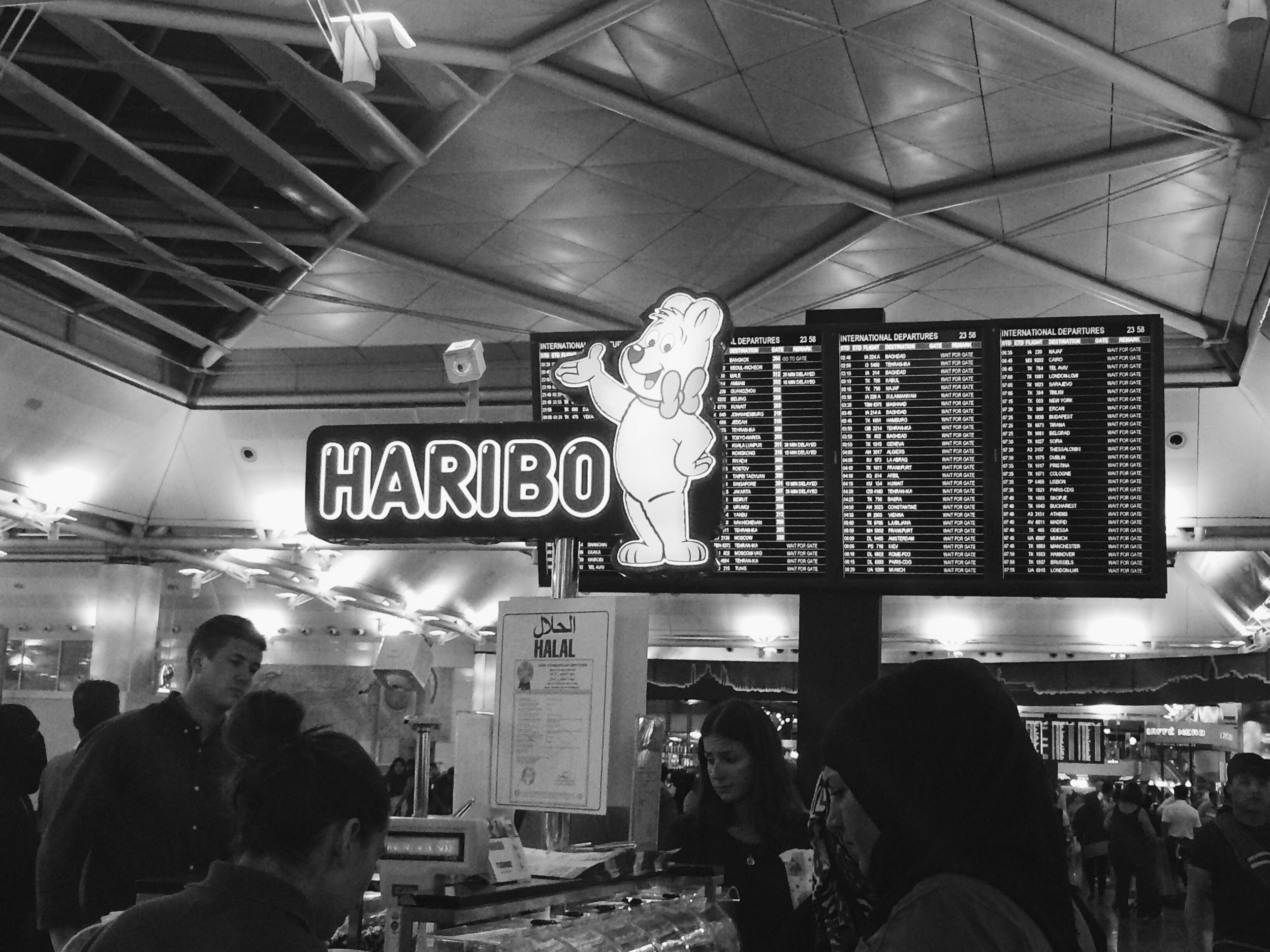 Stress eating Haribo