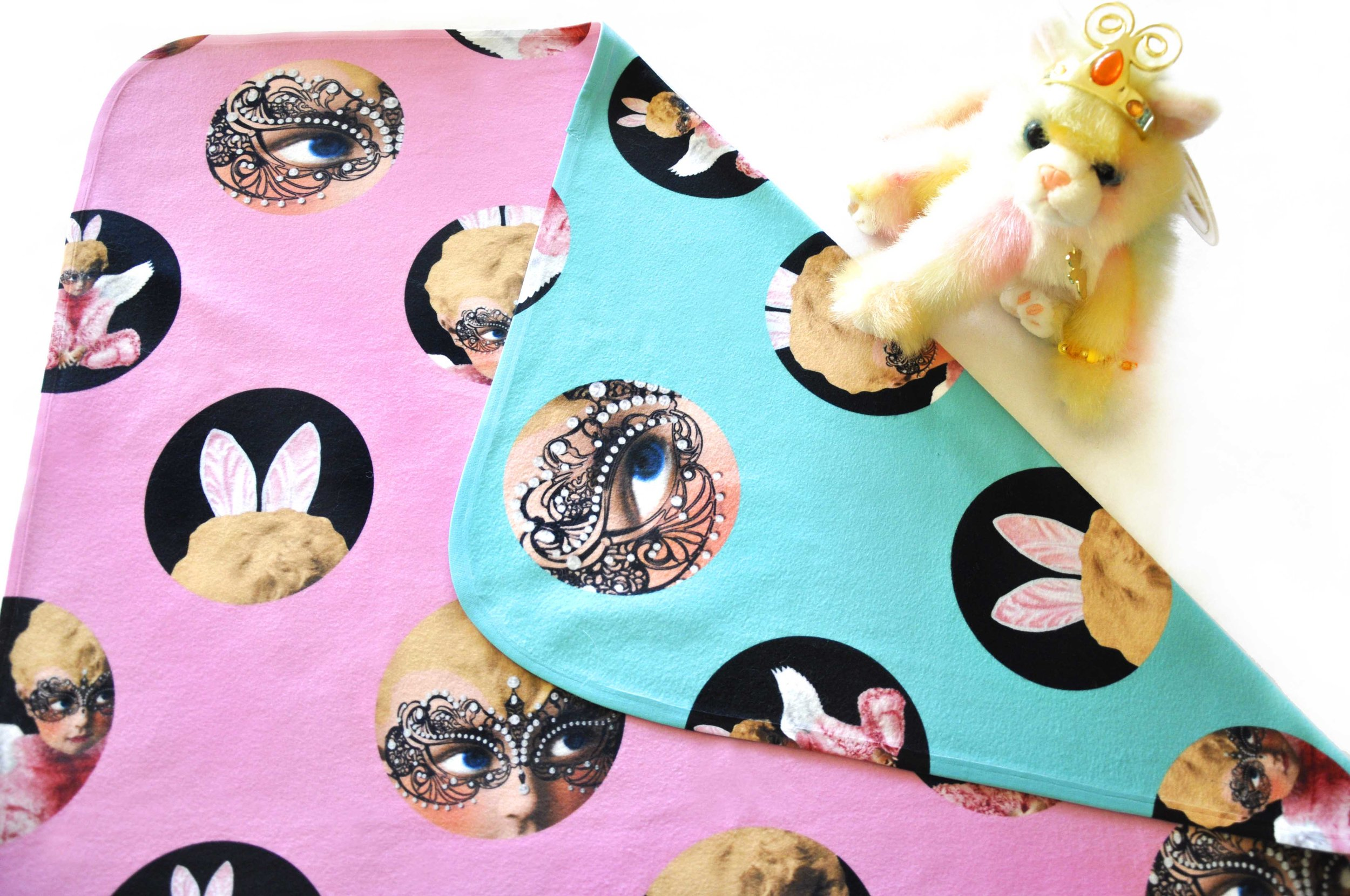 fornasetti baby blanket
