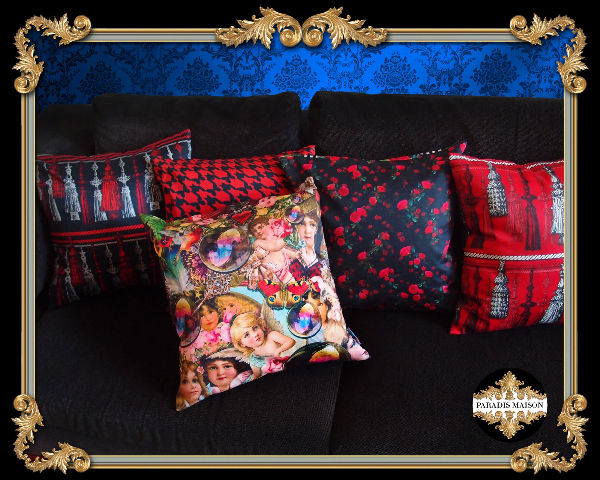 paradis maison pillows