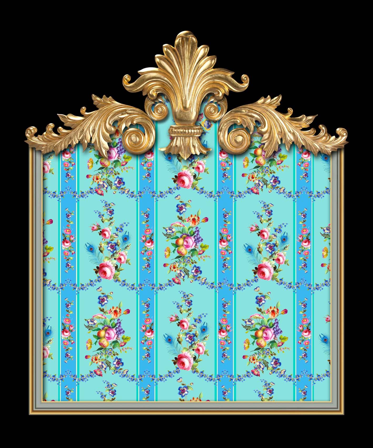 Marie Antoinette in Mint & Blue