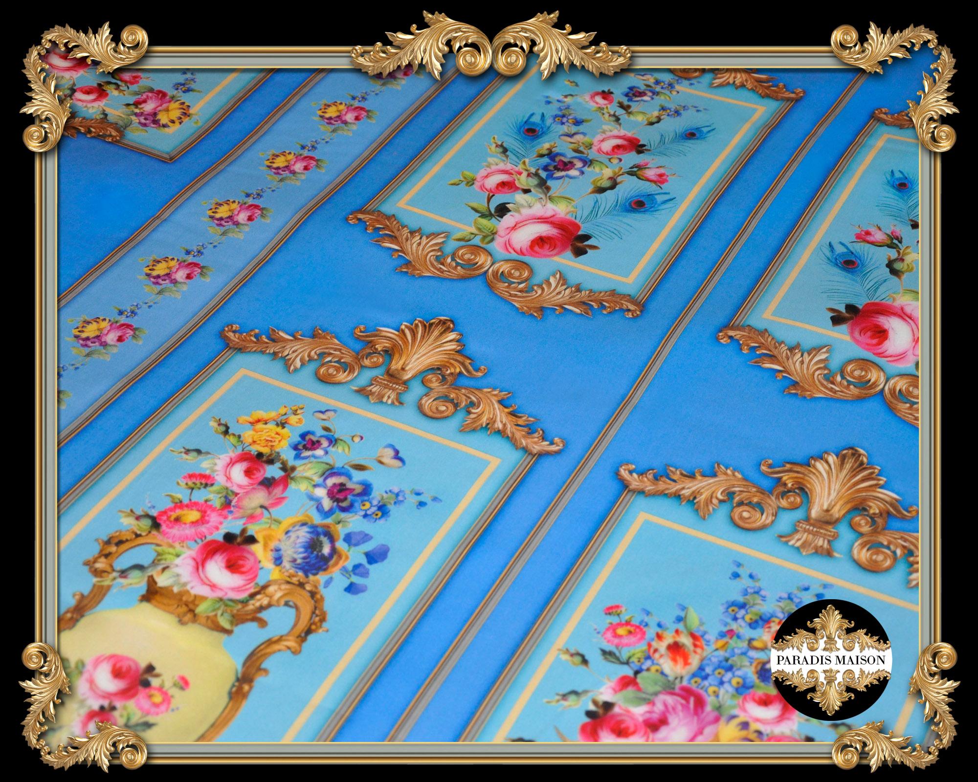 ornate french style duvet cover