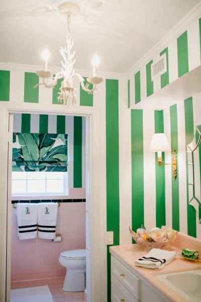 beverly-hills-inspired-bathroom-pink-green-banana-leaf-martinique.jpg