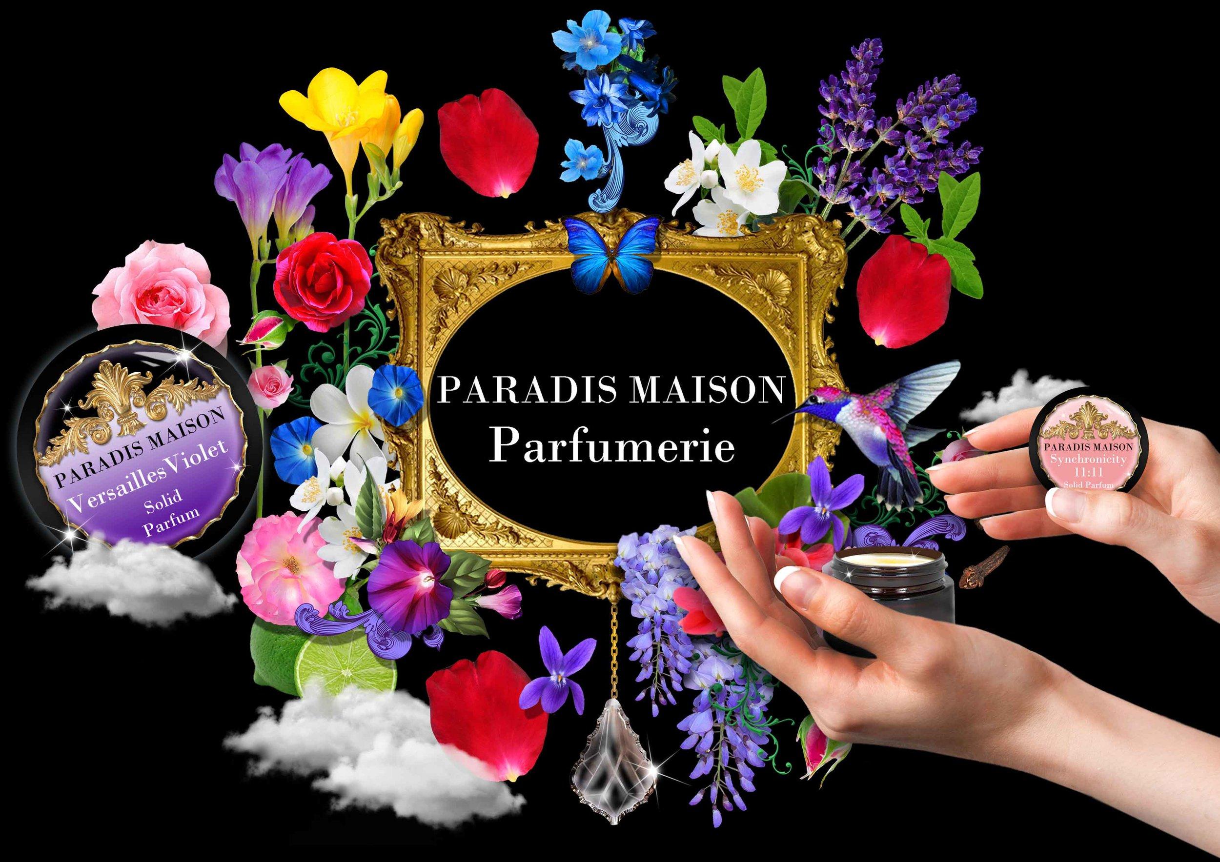 Organic Solid Perfume Paradis Maison